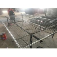 Buy cheap 6'x10' temporary chain link fence ,construction panels tubing 1½(38mm) x 15.5ga/1.70mm wall thick chain mesh2¼50mm from wholesalers