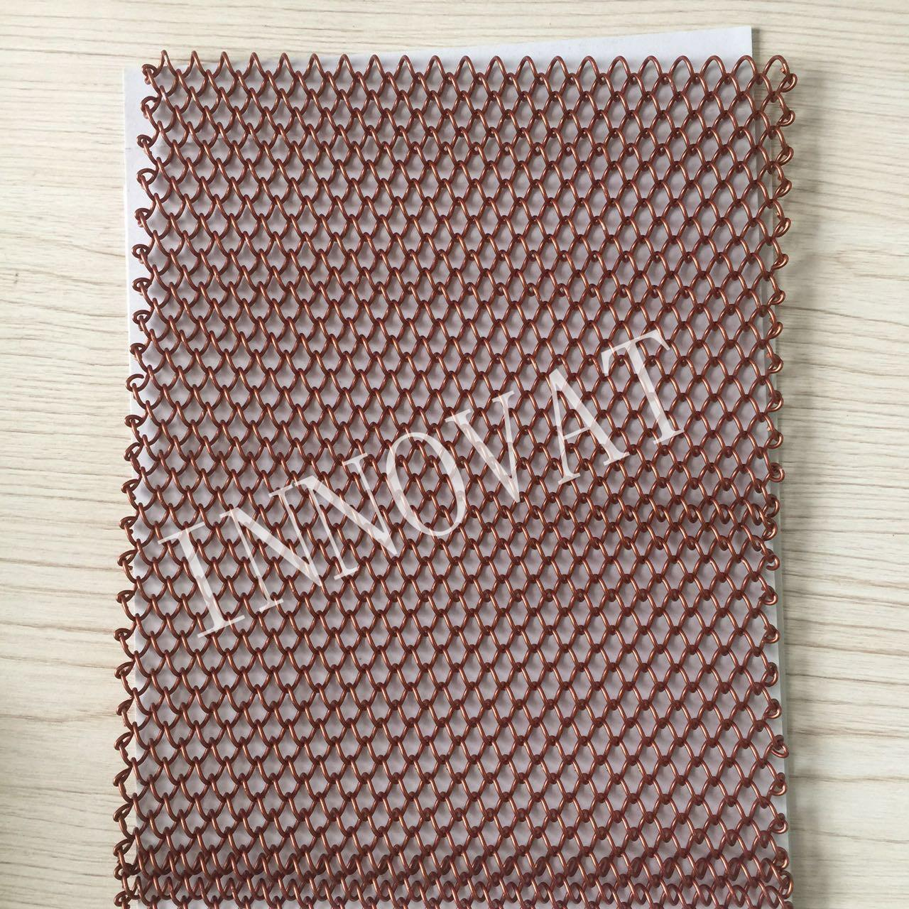 Buy cheap Decorative architectural chain link curtain mesh, metal beads hanging chain curtain, from wholesalers