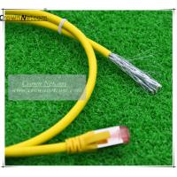 Buy cheap Cat6A SSTP Patch Cord RJ45 PVC  BC 6 Colors  Category 6A Patch Cables Shielded Patch Lead from wholesalers