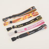 Wholesale RFID Polyester Woven Wristband for Evening/Party/Festival and Gift ,wristband closoure from china suppliers