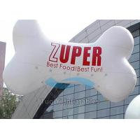 Wholesale PVC Outdoor Custom Shaped Balloons , Bone Customised Helium Balloons from china suppliers