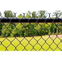 Buy cheap 6-Ft X 50-Ft 11.5 Gauge Chain Link Fence Fabric Of Galvanized Steel CE Passed from wholesalers