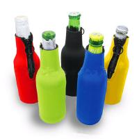 Wholesale Cans Use and  Insulated Type 330ml Neoprene wine cooler size is 19cm*6.3cm, SBR material. from china suppliers