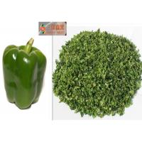 NO Foreigh Matters Dehydrated Green Peppers / Dried Bell Pepper Flake Manufactures