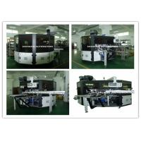 Buy cheap PLC System Automatic Screen Printing Machine / Screen Printing On Bottles from wholesalers