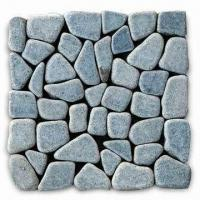 Buy cheap G308 Color Granite Tumbled Mosaic with Curved and Straight Edge, Measures 305 x 305mm from wholesalers