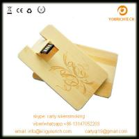 China Wooden usb card flash drive 2.0,credit card usb,usb business card,optional package on sale