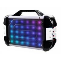 Buy cheap New design Outdoor home use Portable Bluetooth Boombox Speaker machine support usb fm aux mic with LED Light from wholesalers