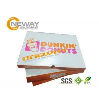 Buy cheap Kraft Paper Custom Gift Boxes , Disposable Custom Printed  Gift Boxes Fast Food Packaging Box from wholesalers