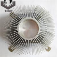 Buy cheap OEM / ODM Aluminum Heat Sinks Anodizing Surface Treatment For LED Light from wholesalers