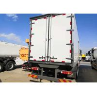 Buy cheap Refrigerated 10 Wheels Euro Truck 2 Heavy Cargo For Meat And Foods Transport from wholesalers