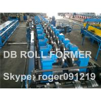 Automatic Metal Purlin Roll Forming Machine , wire forming machines