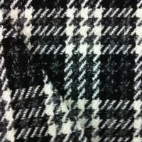 Buy cheap Wool/Acrylic/Polyester Blended Yarn Dyed Checkered Fabric, Suitable for Coat and from wholesalers