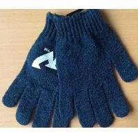 Buy cheap Polyester Knitted Gloves for Shower from wholesalers