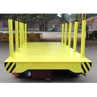 Buy cheap On Rail Motorized Handling Trolley Die Electric Transfer Platform Applied in Power Plant from wholesalers