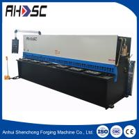 Buy cheap new condition CE QC11Y-12x6000 hydraulic guillotine, cnc hydraulic Sheet metal shearing machine from wholesalers
