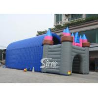 Buy cheap 20x7 mts grand castle inflatable tunnel tent for outdoor parties or activities from wholesalers
