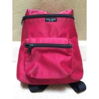 Buy cheap Kate Spade Red & Black Nylon Zippered Backpack youngstown backpack  yoke backpack  zipper backpack  zion backpack  zippe from wholesalers