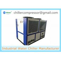 Buy cheap 109kw/30TONS Scroll Compressor Air Cooled Water Chiller Industrial Chiller from wholesalers