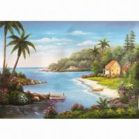 Buy cheap Body/Flower/Building Oil Painting, Wholesale, Suitable for Gifts, Promotions from wholesalers