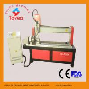 China CNC Wood machine for round shape material TYE-1200X on sale