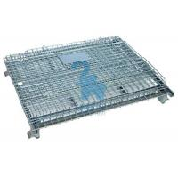 Wholesale Heavy Duty Collapsible Wire Mesh Storage Cages For Metal Tools from china suppliers