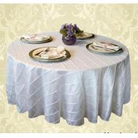 Buy cheap Pintuck Table Cloth For Wedding from wholesalers