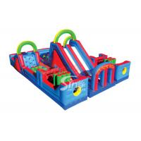 Buy cheap Outdoor Kids Commercial Inflatable Obstacle Course For Inflatable Playground Equipment from wholesalers