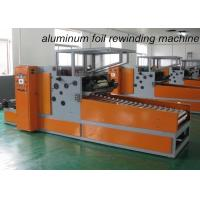 Wholesale Automatic Aluminium Foil Rewinding Machine For Household Kitchen Roll Cutting from china suppliers