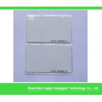 Buy cheap TK4100 RFID PVC blank white card for the access control from wholesalers