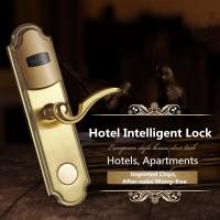 Buy cheap Intelligent Stainless Steel IC Card Induction Lock For Hotel / Apartment from wholesalers
