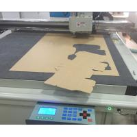 Buy cheap Corrugated sample making cutting table making cutter table machine from wholesalers