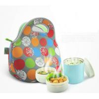 Wholesale Insulated Neoprene Lunch Tote / Cooler Lunch Box , Heat Transfer Printing from china suppliers