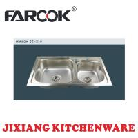 Buy cheap double bowl rv kitchen sink from wholesalers