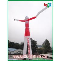 Buy cheap Wind Resistant Inflatable Funny Cat Air Painting Dancer 6M Tall With CE Blower from wholesalers