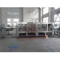 Buy cheap Custom Made Automatic Water Bottle Filling System / Drinking Water Filling Machine from wholesalers