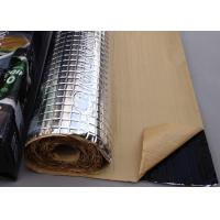 Buy cheap Rubber Faced AL Foil Sound Absorption Panels Machine Vibration Isolation Mat from wholesalers