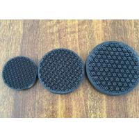 Cooking Gas Infrared Honeycomb Ceramic Plate , Round Shape Porous Industrial Heating Plate