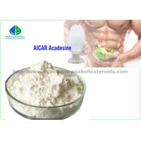 Buy cheap Yellow Crystalline Solid Human Growth Hormone Peptide AICAR Acadesine Fat Burning SARM Powder from wholesalers
