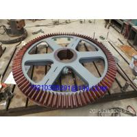 Foged Steel Milling Machine Tool Straight Tooth Bevel Gear Wheel Manufactures