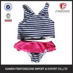 Buy cheap Summer very pretty cute strips printer bikini swimming wear swimwear bikini bikini from wholesalers