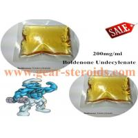 Buy cheap Yellow Liquid Boldenone Steroids Boldenone Undecylenate Muscle Bulding CAS 13103-34-9 from wholesalers