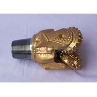 Buy cheap 251mm 9 7/8 Inch IADC545 Tricone Bit Soft Limestone Gold Color For Mining product