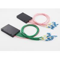 Buy cheap 8 Channel 100G DWDM Mux Demux UPG Port LC / UPC Connectors Customized Length from wholesalers