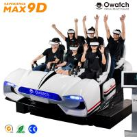 Buy cheap 6 seats 9d vr cinema / 9d vr family / virtual reality indoor simulator from wholesalers