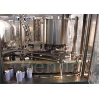 Buy cheap Carbonated Drinks Automatic Tin Cans Filling Machine Washing Filling Capping Equipment from wholesalers