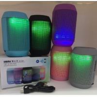 Buy cheap MY500BT Mini Bluetooth Wireless Speaker Portable Stereo Speakers 3D Sound led lights TF from wholesalers