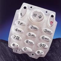Buy cheap OEM Silk Screen Printing Silicone Rubber Keypads with Smooth touch feeling from wholesalers