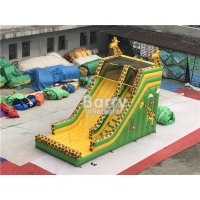 Buy cheap 0.55mm PVC Kids Aduct Size Commercial Outdoor Giraffe Inflatable Dry Slide For Kids from wholesalers