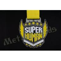 Quality Zinc Alloy Iron Or Brass Race Finisher Medals Custom Design Die Struck Process for sale